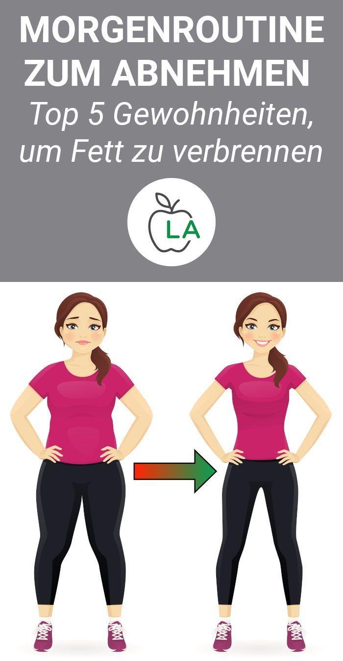 5 morgendliche Gewohnheiten zum Abnehmen – Die beste Morgenroutine #GesundeErnährung