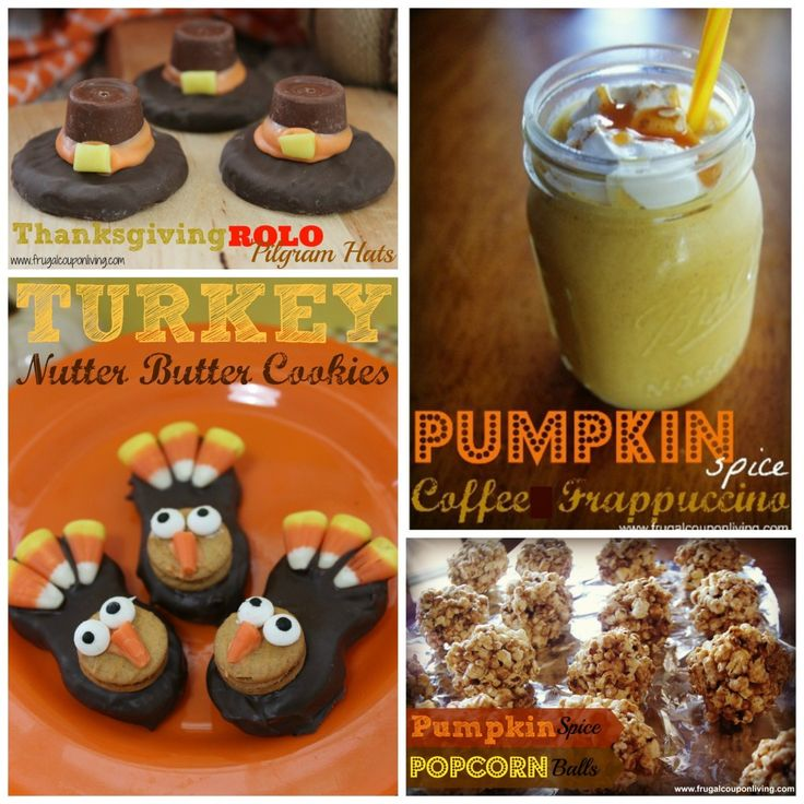 Chocolate Covered OREO Turkey Recipe and More Pumpkin and Thanksgiving Recipes – Kid and Adult Food Crafts. Watch on Rachael Ray! #RachaelRay #Pumpkin #Thanksgiving #Recipe