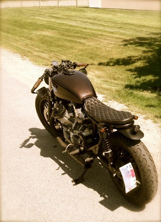'Garret Dietz' -like Honda CX500 #caferacer #motorcycles   caferacerpasion.com