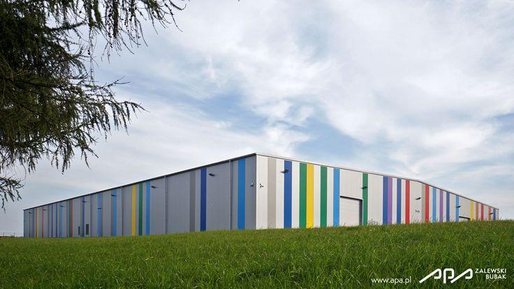 CELBIT - HALA PRODUKCYJNA TRZYCIĄŻ (KRAKÓW) | Projekty | APA Zalewski Bubak - Architekci