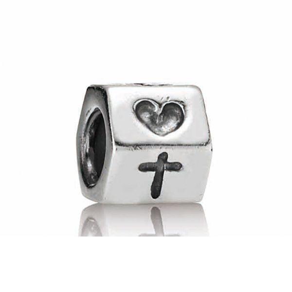 Pandora Faith, Hope & Love Charm #PANDORA