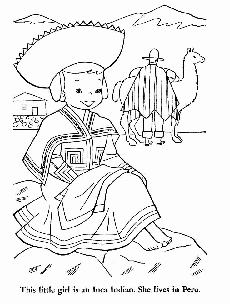 Peru Flag Coloring Page Lovely 48 Best Peru Images On Pinterest Peru Flag Flag Coloring Pages Coloring Pages