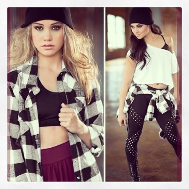From studded leggings to plaid fads put some attitude into your performance look with these ...