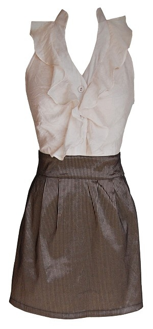 love: Fashion, Ruffle Top, Forest Events, Shower Dress, Gold Stripped, Halter Dresses