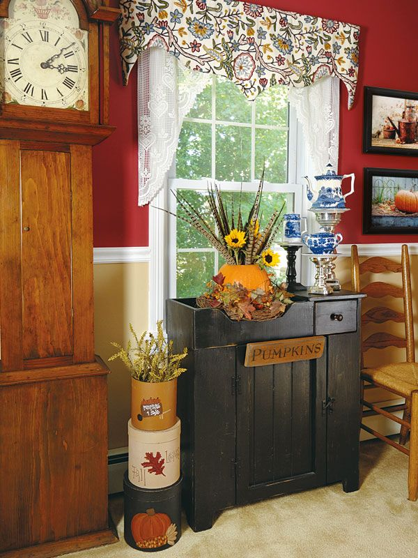 Country Sampler Christmas Decorating Ideas : Images about country sampler decorating ideas on