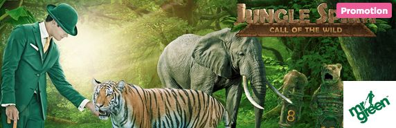 Become King of the Jungle for your share of €10,000 in the Untamed Adventure Prize Draw at Mr Green #Casino- http://freeslotmoney.com/e10000-untamed-prize-draw-adventure-at-mr-green-casino/