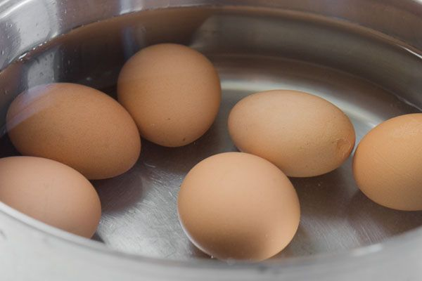 Make perfect boiled eggs