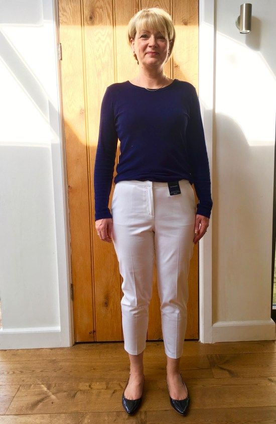 Marks and Spencer 7:8 trouser review 1