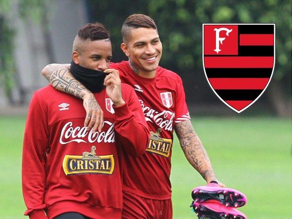 Jefferson Farfán jugaría junto a Paolo Guerrero en Flamengo, según prensa internacional. Mar 24, 2016.