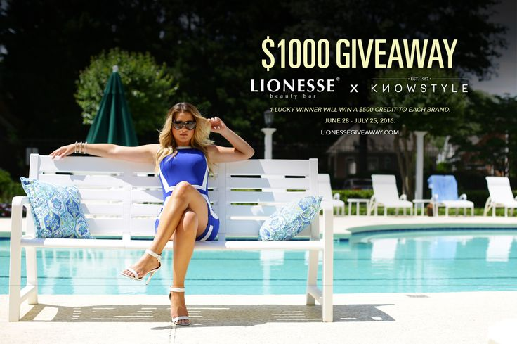Enter for a chance to win a total of $1000 in credit to Lionesse (beauty products) and Knowstyle (clothing and accessories). To participate, complete at least one of the entry options listed below then sign into the widget. You will…