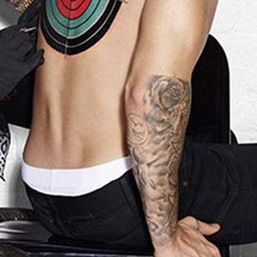 73 best justin bieber tattoos images on pinterest justin for Tattoos on right arm