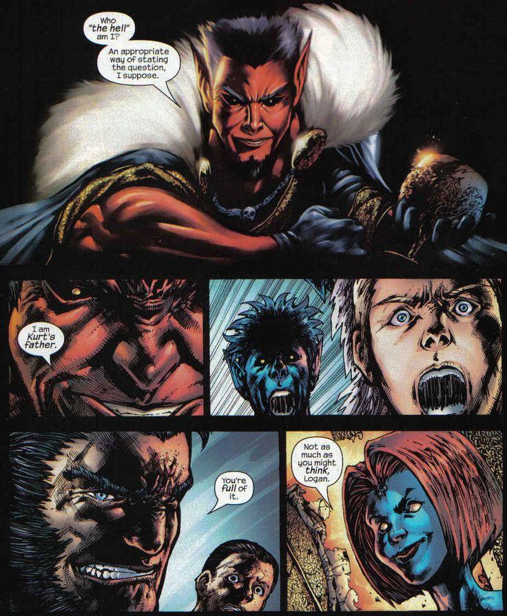 Azazel and Mystique | The revelation! | Marvel Comics ...