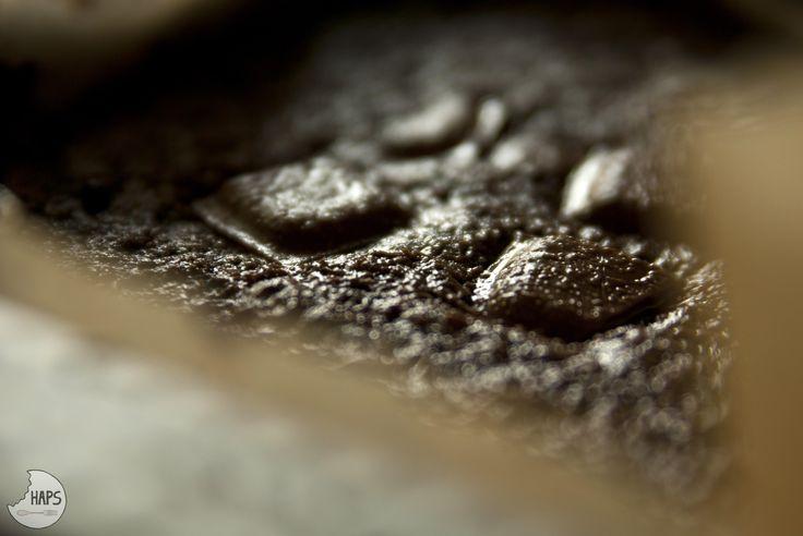 Sneak a peek of brownie. / Rzut okiem na brownie.