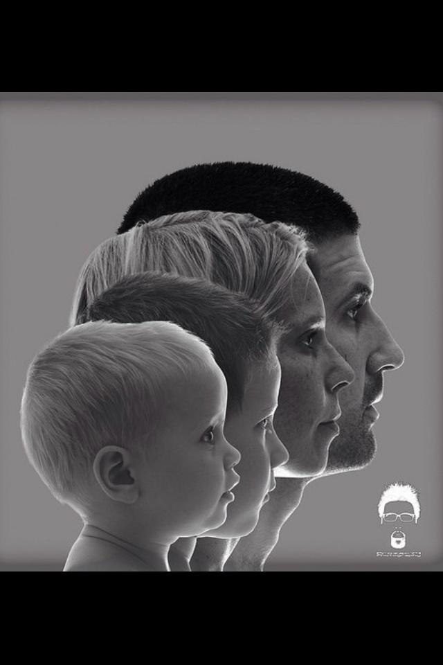 doordat deze foto is gericht op de zijkant van het gezicht, hoort het bij en profil