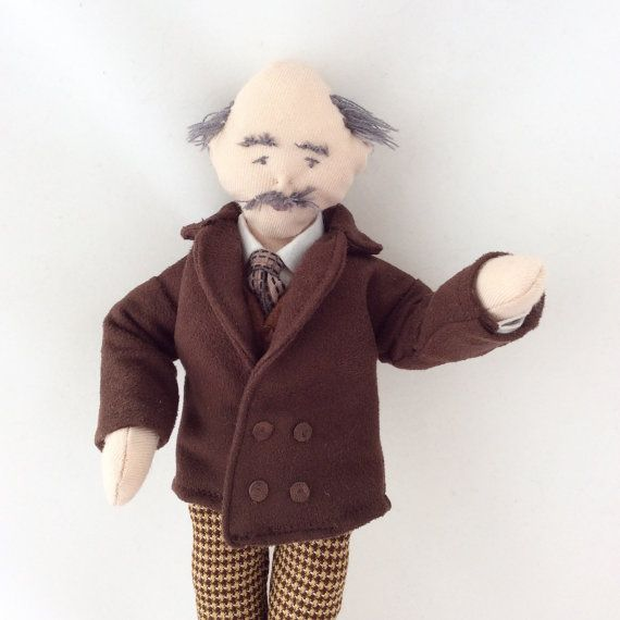 Thomas Hardy collector doll Literary figure Dorset character