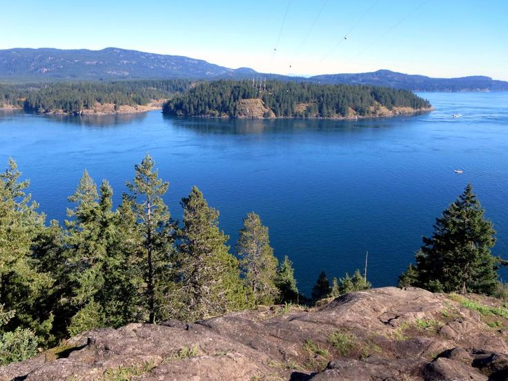 Discovery Passage between Quadra and Vancouver islands was the site of the notorious Ripple Rock until 1958.