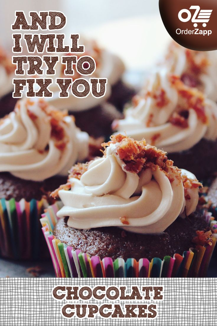 For those of you who couldn't get Coldplay tickets, don't worry. Cupcakes will fix you. get it from #OrderZapp. call to order +919167044100