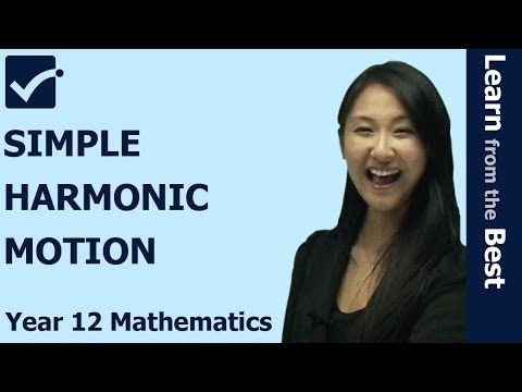 √ Simple Harmonic Motion, Applications of Calculus to the Physical World, HSC Maths Extension 1 Prime Online Tutor explains about Simple Harmonic Motion.  More videos? Please visit http://www.primeonlinetutor.com/MEA MEA101 http://youtu.be/urpo-MbpBWQ