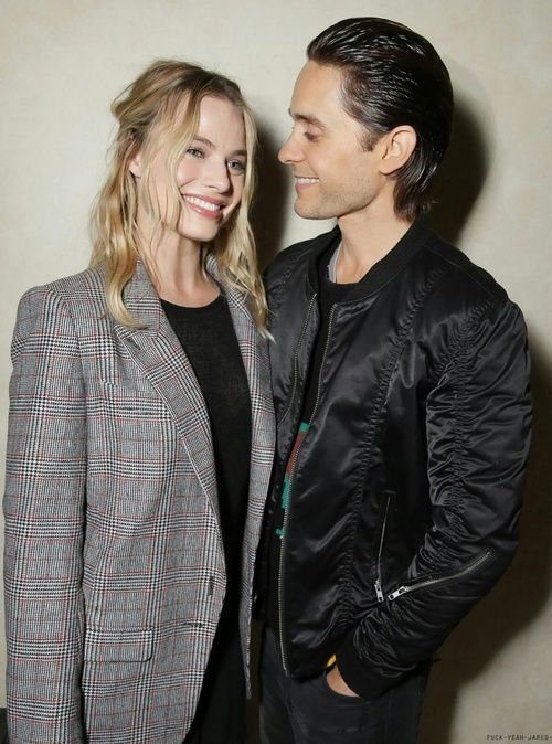 jared leto, margot robbie, and harley quinn Bild