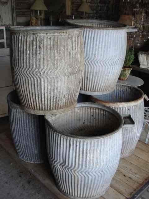 """Dolly Tubs...don't know what a """"Dolly Tub"""" is (will research) but I know that I love them whatever their intended use was."""