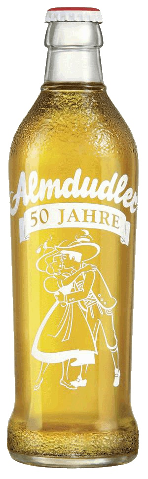 Almdudler Soft Drink! My son loved this when we were in Austria. Wish we could buy it in the US.