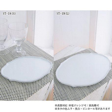 COVENTGARDEN 食器シリーズエレガントなスクエアプレート♪テーブルの上でリズムが生まれますね☆盛皿やサラダ皿、パーティー皿におすすめの大きいお皿です。※STシリーズは手作りの風合いを表現するため素朴な作りになっており、多少のゆがみ・色ムラ・黒点・ピンホール等があります。予めご了承下さい。電子レンジ・食洗機使用可能。