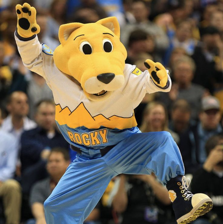 Denver Nuggets Dancers: 70 Best Images About ... Mascots ... On Pinterest
