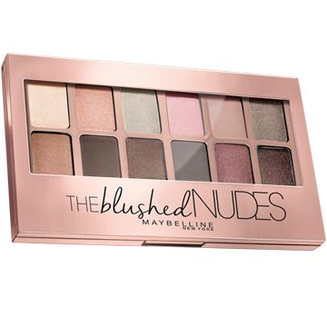 regard fards a paupiere palette ombre a paupieres the blushed nudes Gemey Maybelline