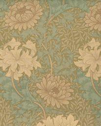 Textil 81111: Chrysanthemum från William Morris & Co - Tapetorama