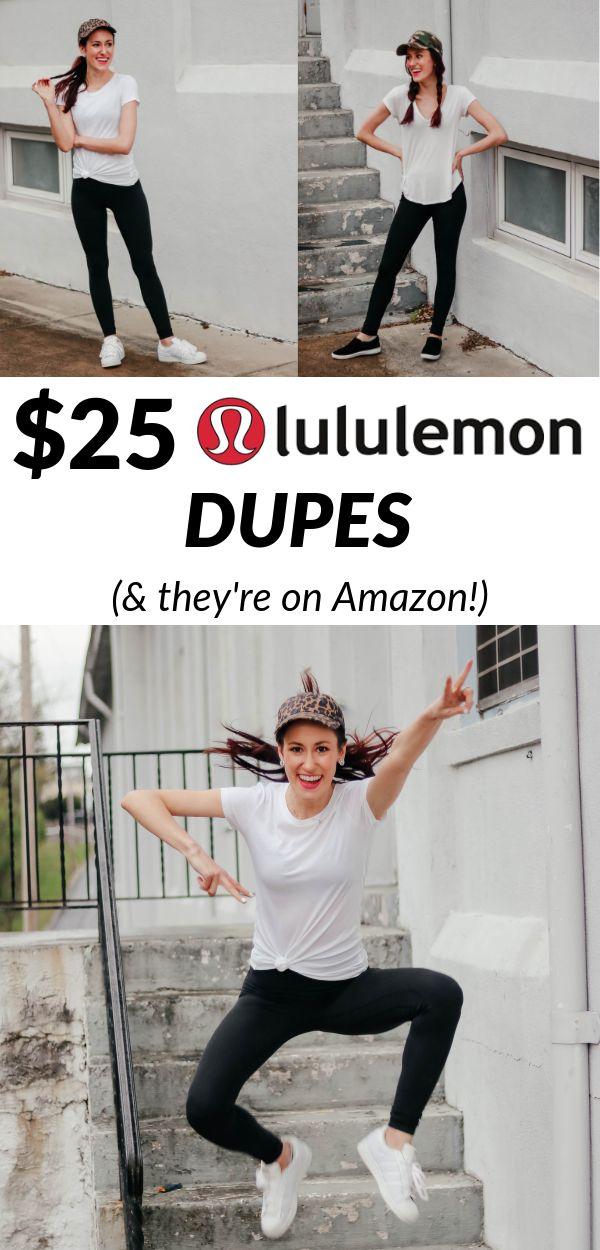 $25 Lululemon DUPES – The Best Leggings on Amazon!