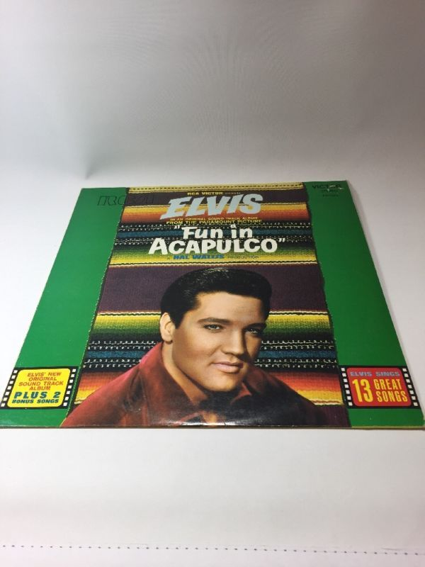 ELVIS PRESLEY Vinyl LP Fun In Acapulco French Import,443.020,NM GRaceland, in Music, Records, Other Records | eBay
