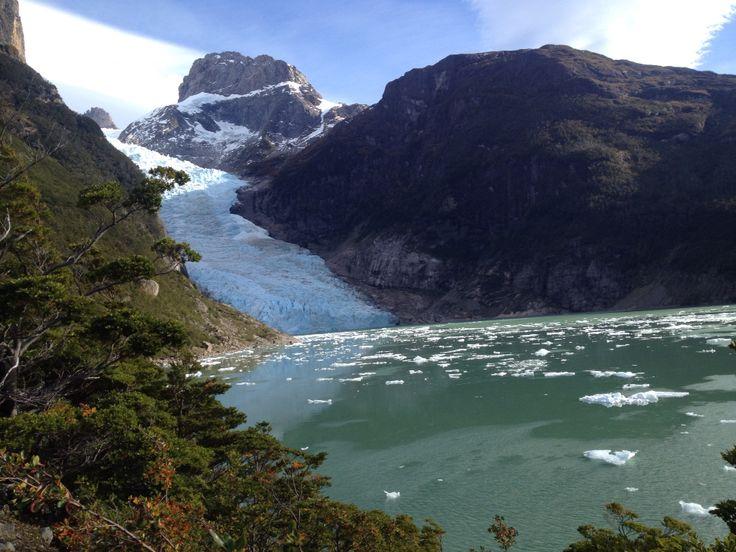 Glaciar Serrano Patagonia Chile