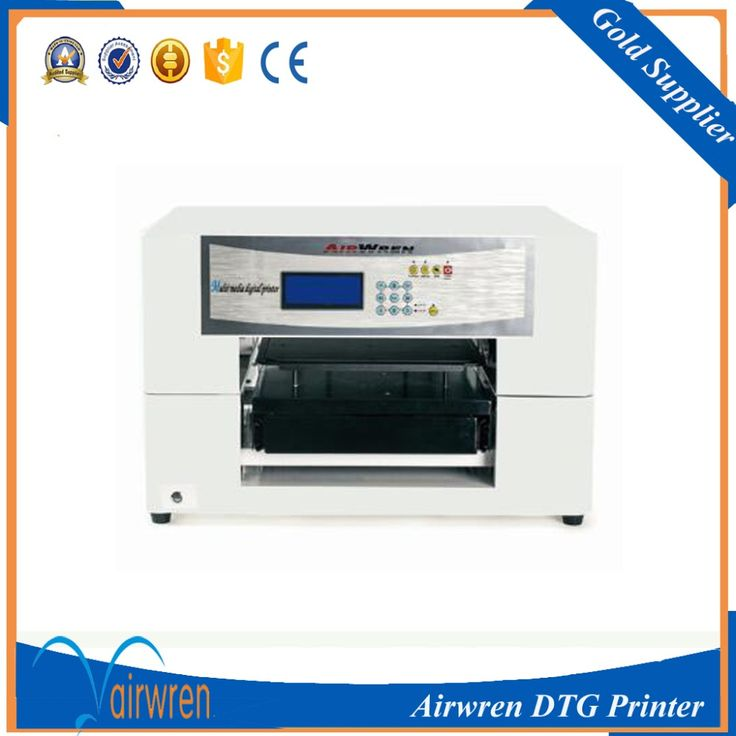 High resolution  t shirt printer DTG printing machine