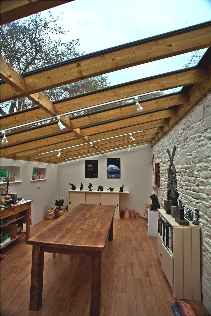 sloping glass roof extension - Google Search
