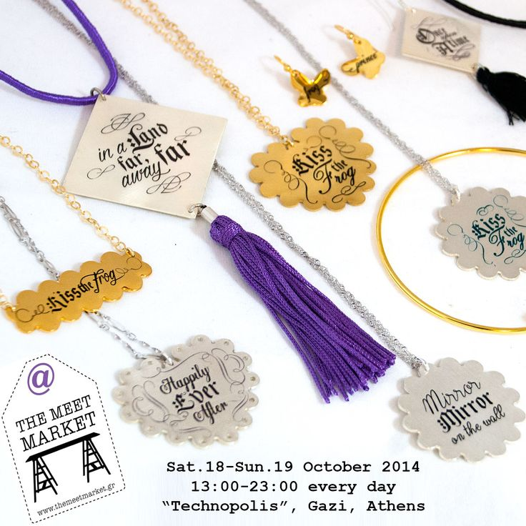 This weekend, at The Meet Market independent designers bazaar, debuts the new fairy tale collection of jewellery and bags