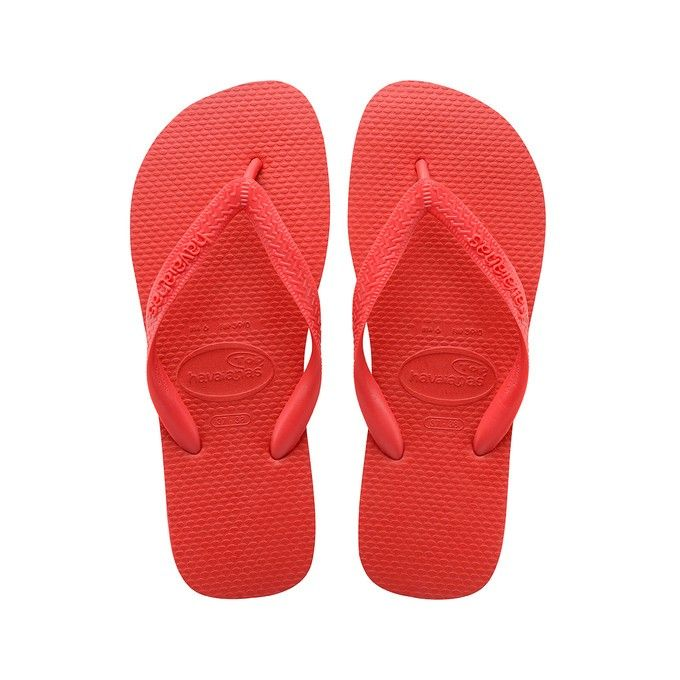 HAVAIANAS TOP - Ruby Red