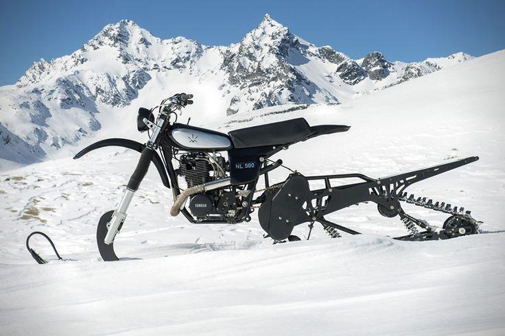 Yamaha HL500 Snow Bike by Northern Lights Optic 1