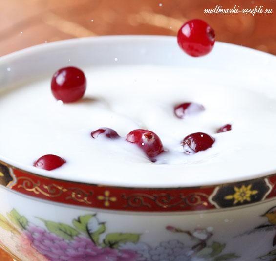 Йогурт в мультиварке панасоник