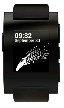 Pebble Watch generator screenshot