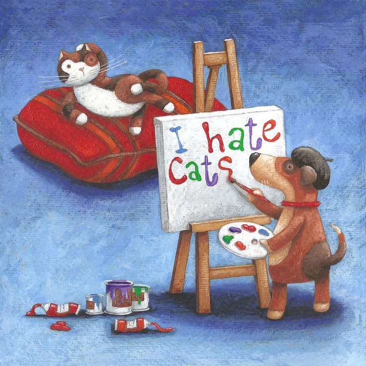 I Hate Cats Photograph - I Hate Cats Fine Art Print