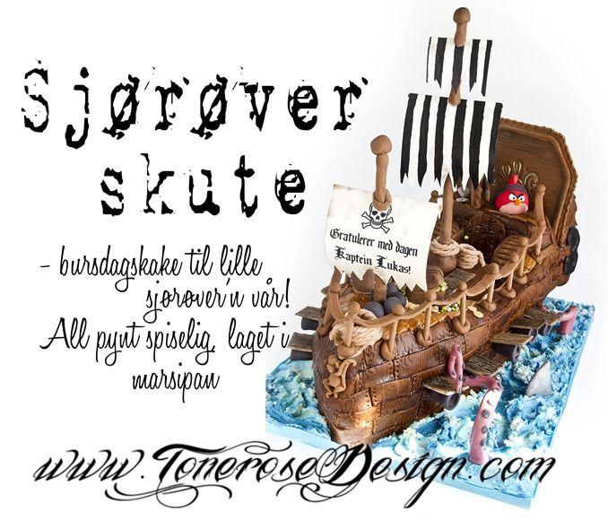 IMG_5591 sjørøverskip kake