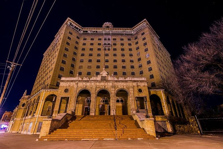 Step Inside the Abandoned Baker Hotel in Mineral Wells, Texas