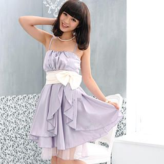 Buy '59 Seconds – Sleeveless ' Bow' Satin Party Dress' with Free Shipping at YesStyle.com.au. Browse and shop for thousands of Asian fashion items from Hong Kong and more!