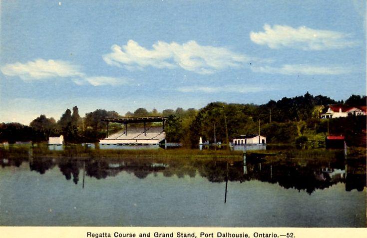 Canadian Henley Regatta Course Port Dalhousie Ontario Canada (image/jpeg)