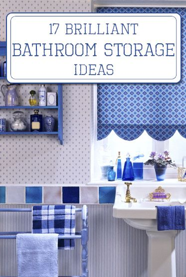 Brilliant Bathroom Storage Ideas : Images about bathroom storage on