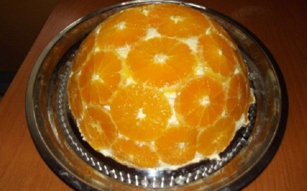Narancstorta (sütés nélkül) - MindenegybenBlog