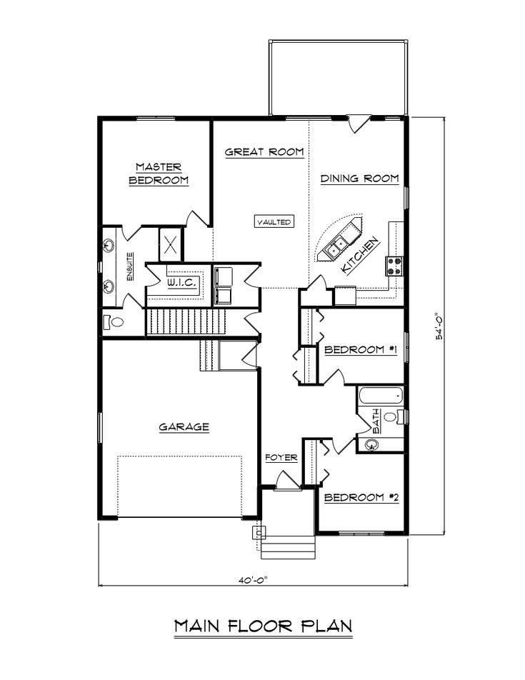 40 Best House Plans Images On Pinterest  House Floor Plans Fascinating Dining Room Floor Plans Inspiration Design