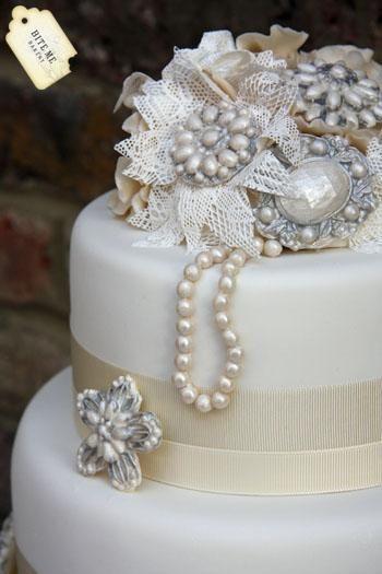 Gatsby Inspired Wedding Cake | Cake ideas | Pinterest
