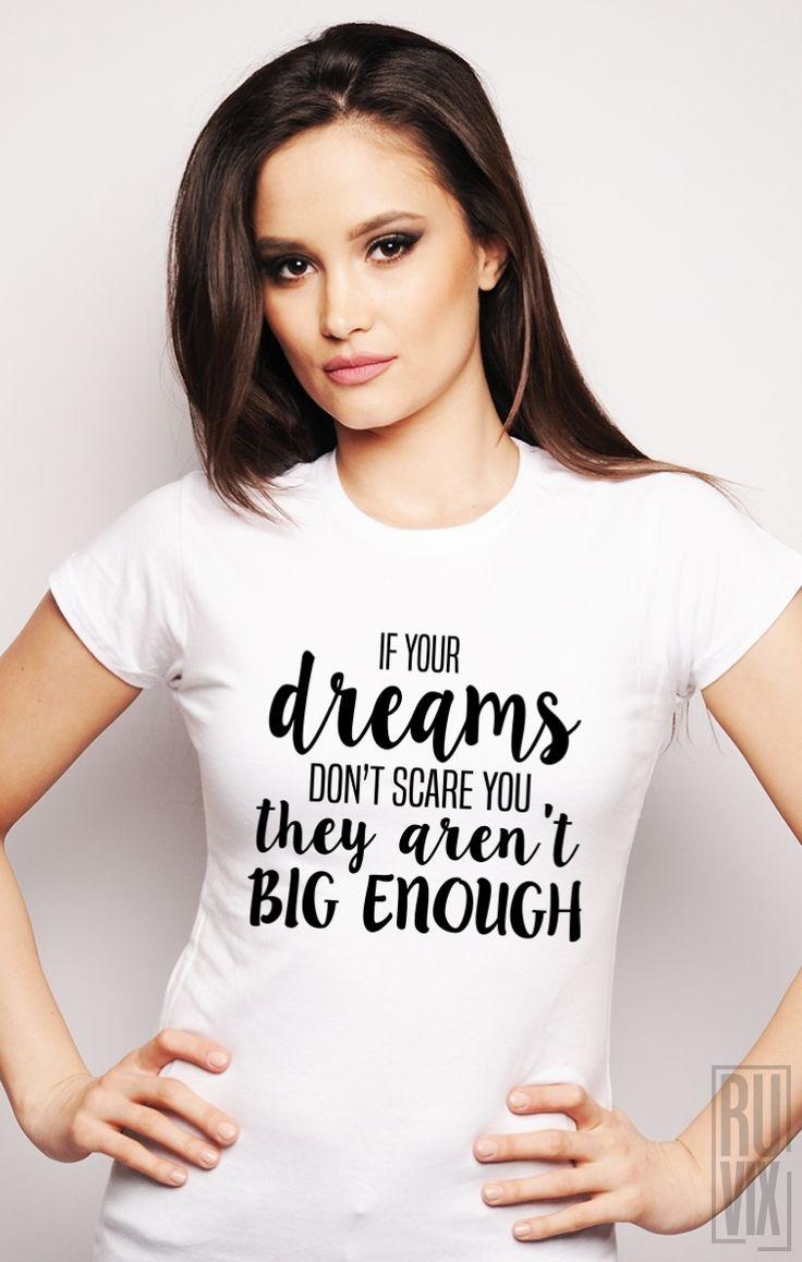 Tricou Ruvix Dream Big Enough