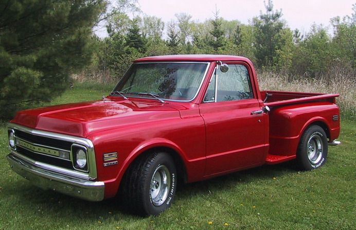 Old ChevyTruck - 1970 Chevy Stepside, immaculate and fun